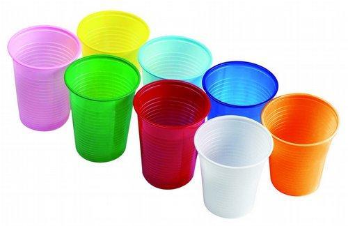 Стаканчики пластиковые цветные